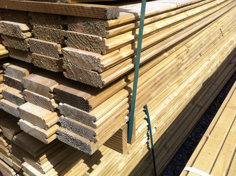 Bois pour box ou garage etc la for Prix de construction d un garage au m2